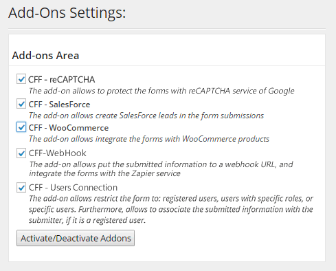 Add-ons